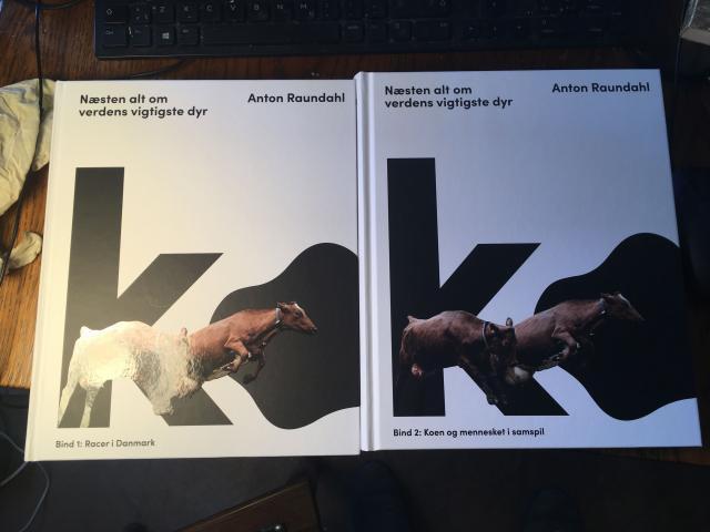 Anton Raundahls bog Ko - 1. Racer i Danmark 2. Koen og mennesket i samspil